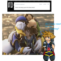 Soras cute answer by AnnaKitsun3