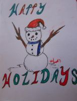 Holiday card 2 by Adriellovesart