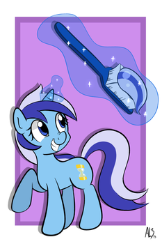 Toothpaste Horse by DatAhmedz