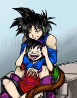 Gift For Goten-chan: Brother by monicalynnevallejo