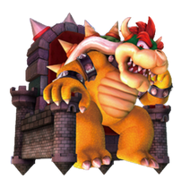 Bowser (Super Mario Galaxy 2) Poster by DryBowzillaJP