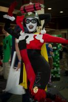Megacon '12: Harley goofin' off by Enasni-V