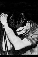 Ian Curtis by deathwish85