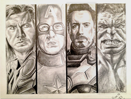 The Avengers by devilwithin91
