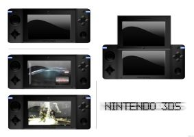 Nintendo 3DS Concept 1 by Vischal-Fex