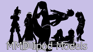 MMD Ipod Pack by MissingPixieSticks