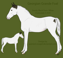 SOLD - Georgian Grande Foal 1 by painted-cowgirl