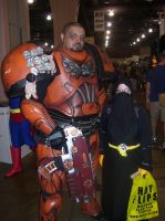 Philly ComicCon 2013 with Chaos Space Marine! by Hannah2070