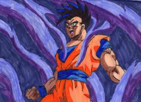 Mystic Gohan by ChahlesXavier