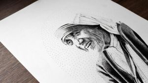 Mother Teresa by DanielPoint