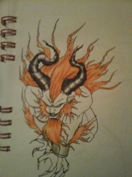 WIP Ifrit by RyuseiTenma