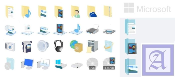 Windows 8.1 icons Preview by dtafalonso