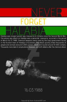 Never forget Halabja by Aram-A