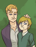Blindon and the Prince by veyn