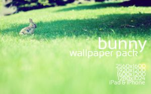 Bunny Wallpaper Pack by solefield