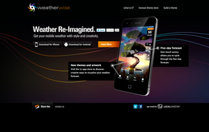Weatherwise website by rjayhaluko