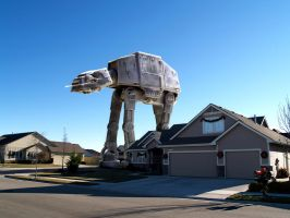 Real AT-AT Walker by JediMichael