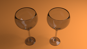 Wine Glasses by Megalomaniacaly