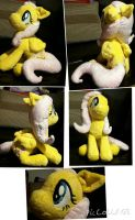Fluttershy plushie commission - FINISHED by Gigicurtis