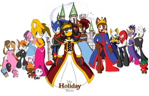 The Holiday Dress - Poster by SonicRemix