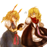 Marisa and Alice by ReinedBloom