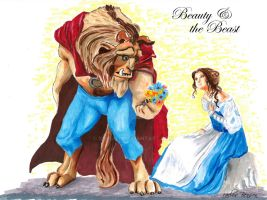 Beauty and the Beast by Xgrunt