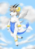 High up in the sky by Ximeon