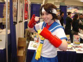 Sakura Kasugano by CaliforniaCosplayers