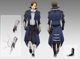 The Order: 1886 Male Outfit Design by Omega-valeth-sama