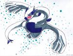 Lugia by shocking-silence