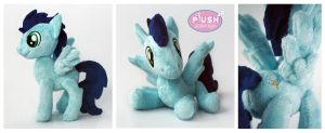 Pocket Poseable Soarin Plush Pony Stallion by PlushActionToys