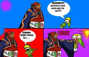 Ganondorf Grumpy pants by FuriousWinter