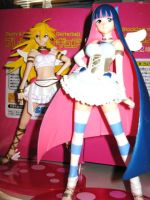 Panty and Stocking Figurines by The-White-Death