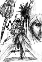 Altair. The Assassin. by TheBoyofCheese