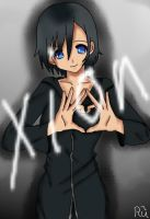 xion with a heart by kairi-tenchii