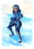 Winter Ezreal by irahi