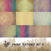 Paper textures set 3 by 00cheily00