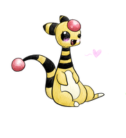 Ampharos by Kiytt