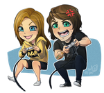 Dai Chibi: Gamers by TheK40