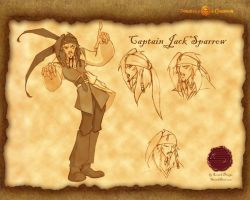 Jack Sparrow expressions by SavarkDicupe