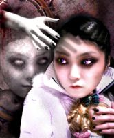Dead Doll hand by 13BlackGothic