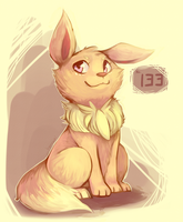 Eevee by honrupi