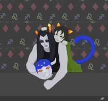 Equius and Nepeta by LeeWhiro