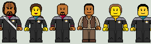 Lego'd Deep Space Nine by Ripplin