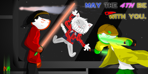 May the 4th Be With...What? by GreenMustika321