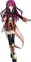 Elsword OC - Lilith, 2nd Job (I) - Reaper Princess by ChibiSalLina