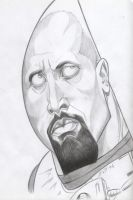 Dwayne The Rock Johnson by EXIT1979