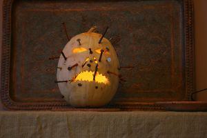 Squash-o-latern lights out by ComsumedDarkness