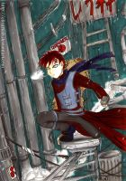 Gaara of the Chaos by elizarush