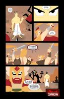 Samurai Jack page 7 by marcusmuller